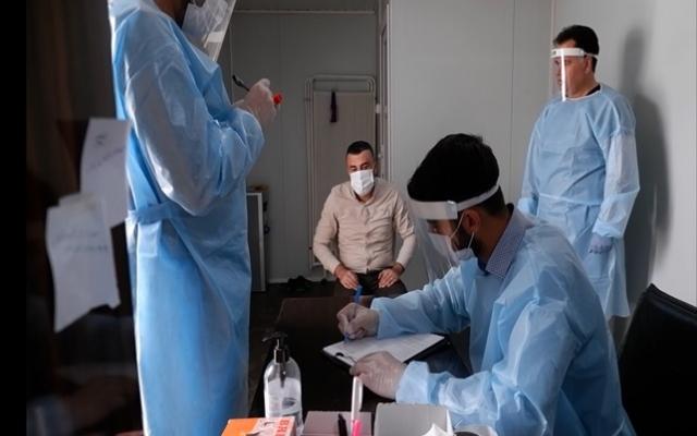 Suriye'de PCR testleri başladı