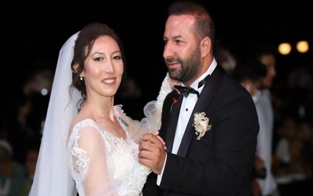Merve ile Fırat'tan muhteşem düğün