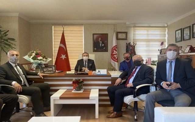 Babaoğlu'dan ASKF'ye ziyaret