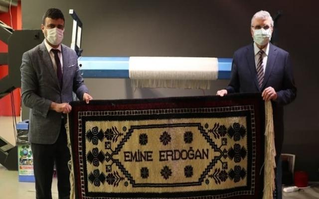 Emine Erdoğan için Yağcıbedir Halısı yapıldı