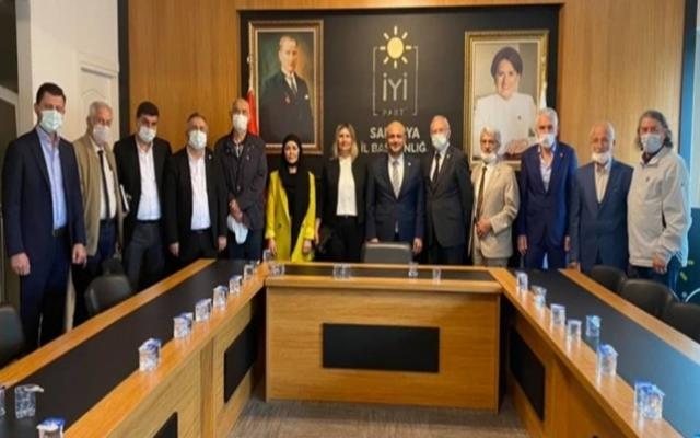 Sakarya STK Platformu'ndan İYİ Parti'ye ziyaret