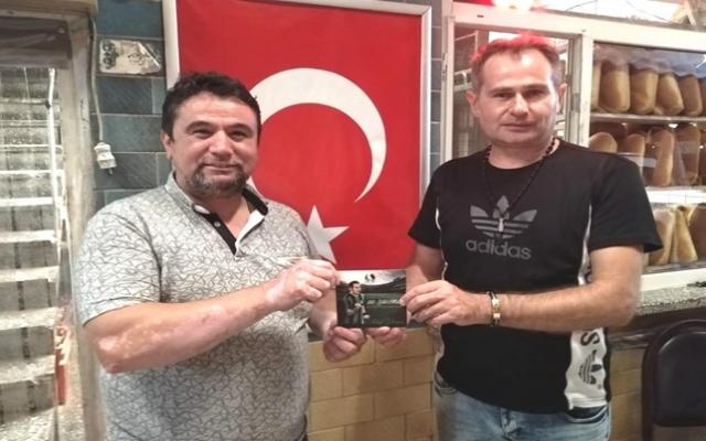 Akif Yener Fahri Kuş'u ziyaret etti