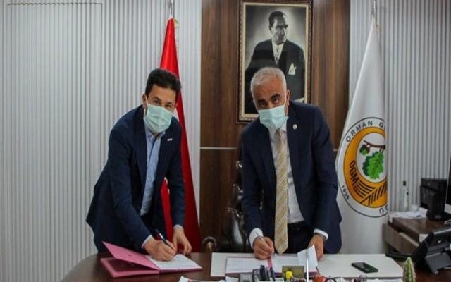2 bin fidanın protokolü imzalandı