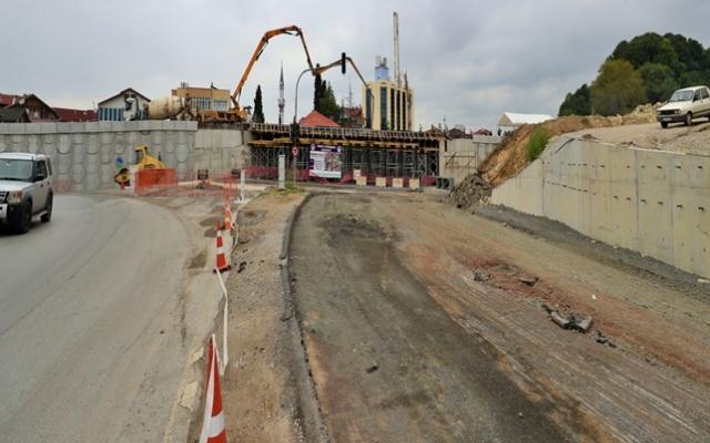 """""""SGK Kavşağı için son betonu attık, 3 ay içinde açmayı hedefliyoruz"""""""